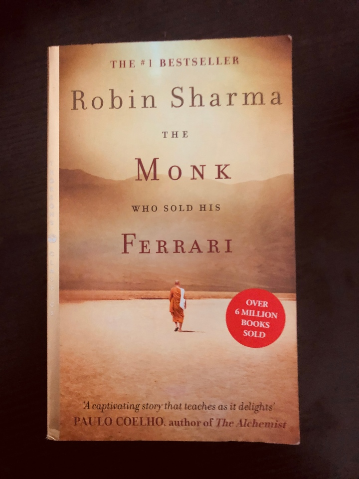 Book Review: The Monk Who Sold His Ferrari (#3/30)