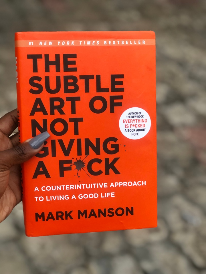 Book Review: The Subtle Art of Not Giving A F*ck (#14/30)