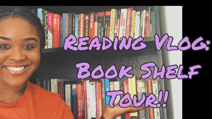 Reading Vlog: Bookshelf TourEdition