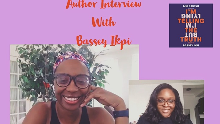 MY FIRST AUTHOR INTERVIEW! WHOOP!💃🏽I INTERVIEWED BASSEY IKPI💃🏽